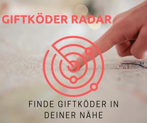 Giftköder Radar